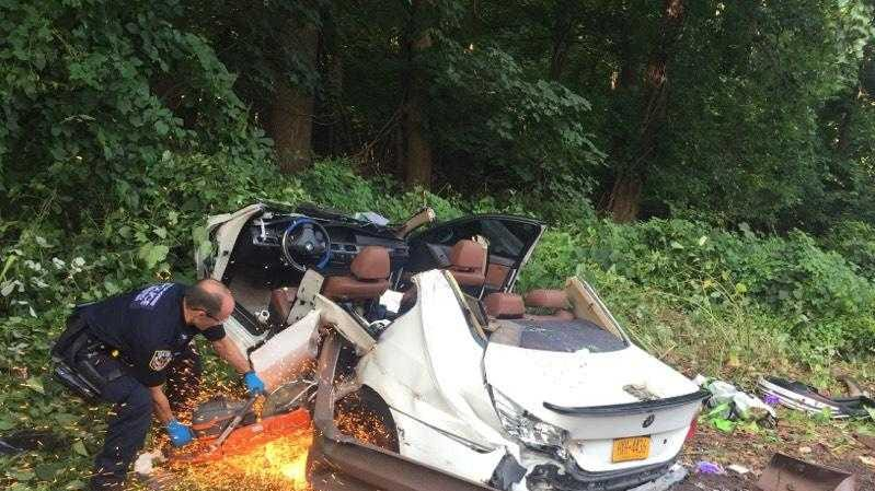 Sprain Brook Parkway crash: 1 serious condition but expected to live, all lanes reopened