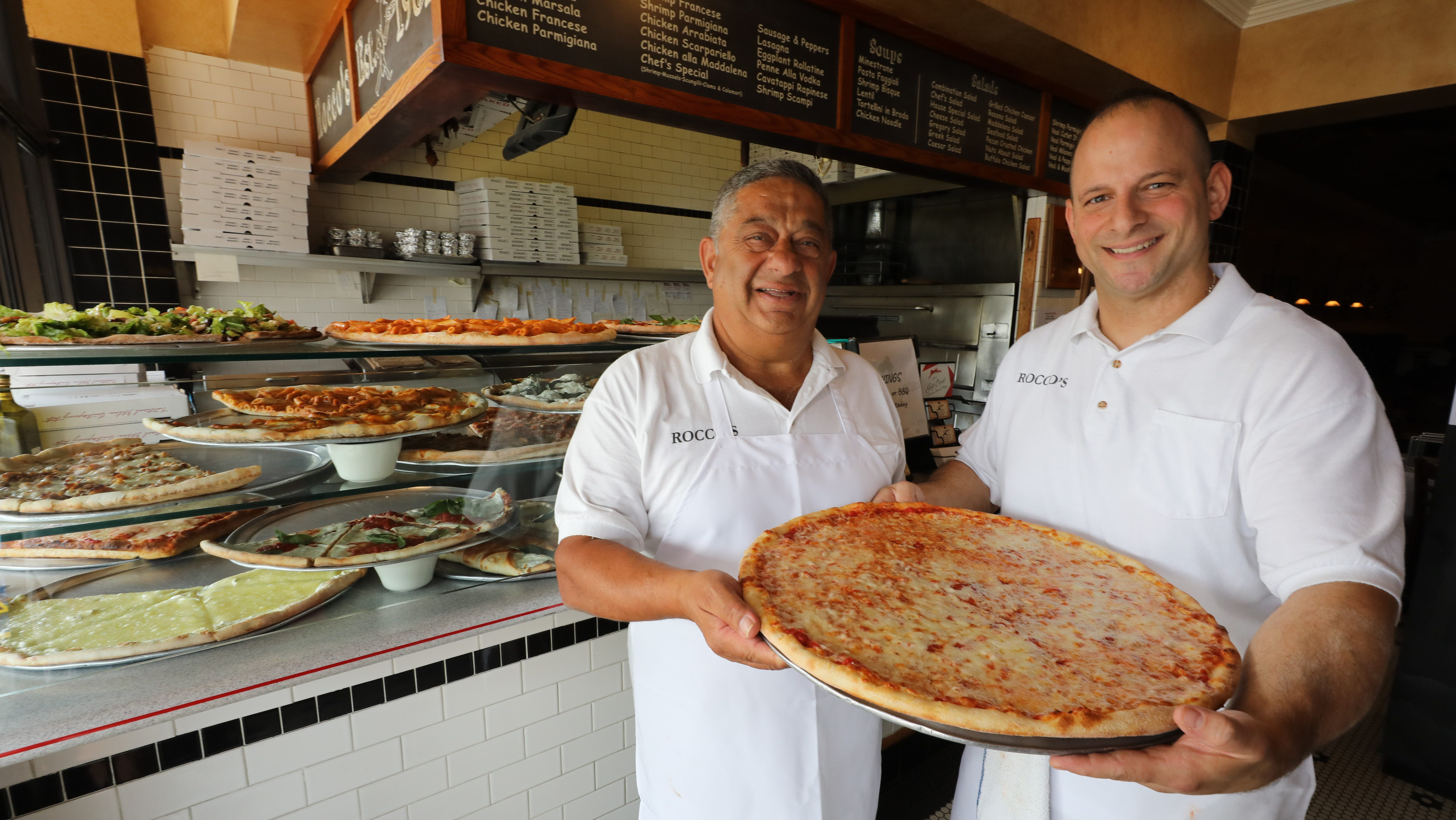And the best pizza in Rockland is ...