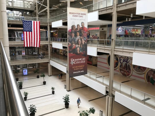 A view of the Palisades Center Mall in West Nyack on Wednesday, August 15, 2018.