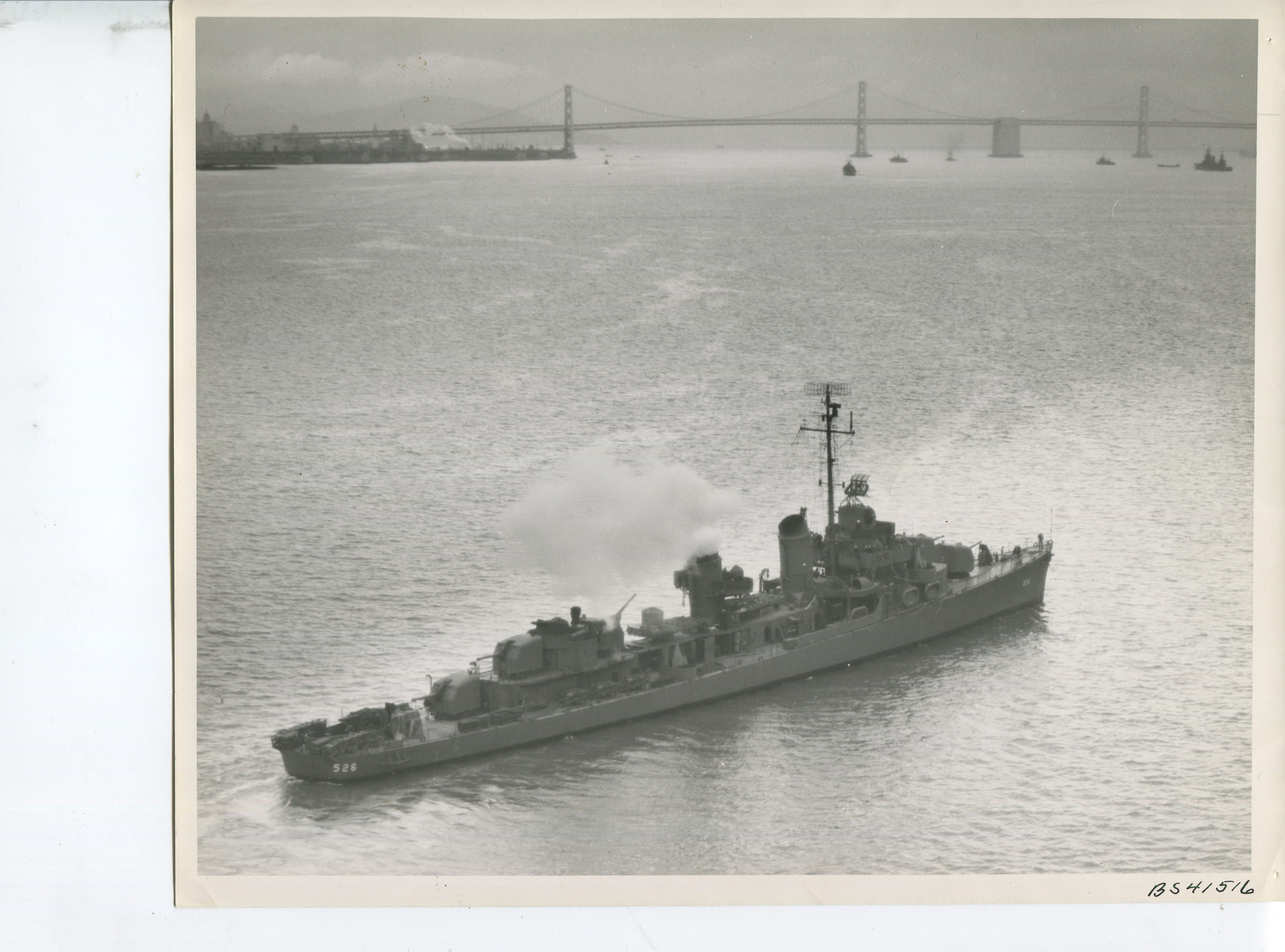 After the USS Abner Read lost its stern in the Bering Sea, it was repaired and went on to continue fighting in the war until it was destroyed in 1944.