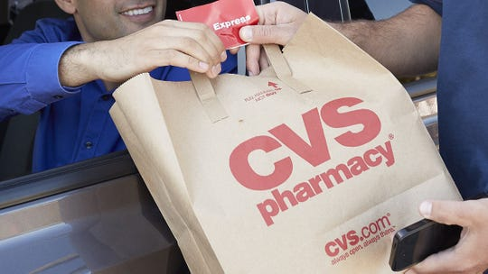 Customers of CVS are currently able to order items online using phone apps. Instacart, a San Francisco-based retail delivery service, is launching in Dentral Delaware on Thursday and allows customers to have everyday essentials delivered straight to their doorstep in as little as an hour.