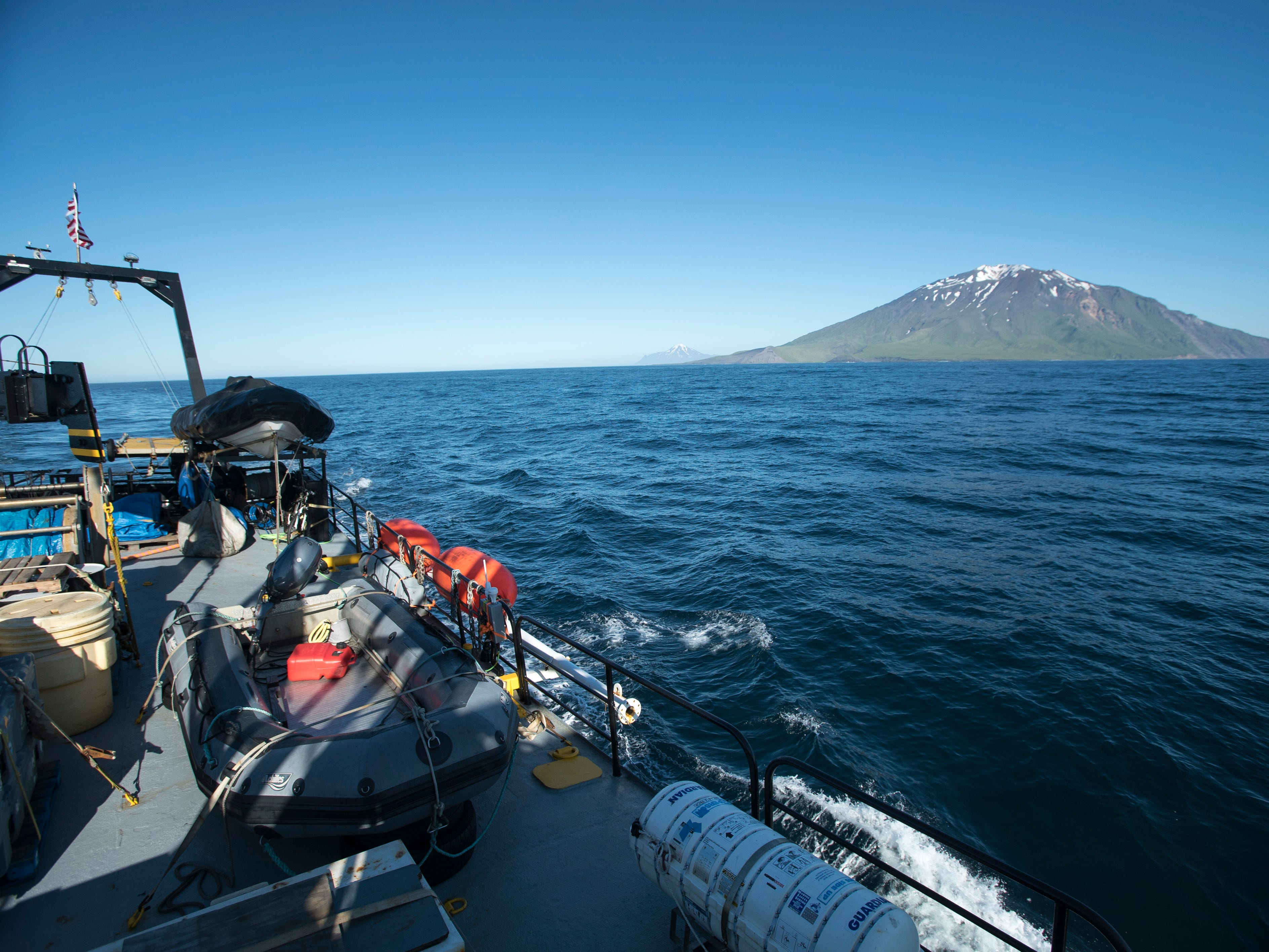 This summer, scientists funded by NOAA set out to find the USS Abner Read's stern, which had been resting at the bottom of the Bering Sea for 75 years.