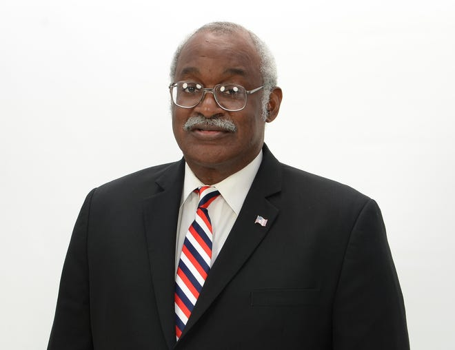 Samuel L. Guy is a Democratic candidate for the state Senate, District 2