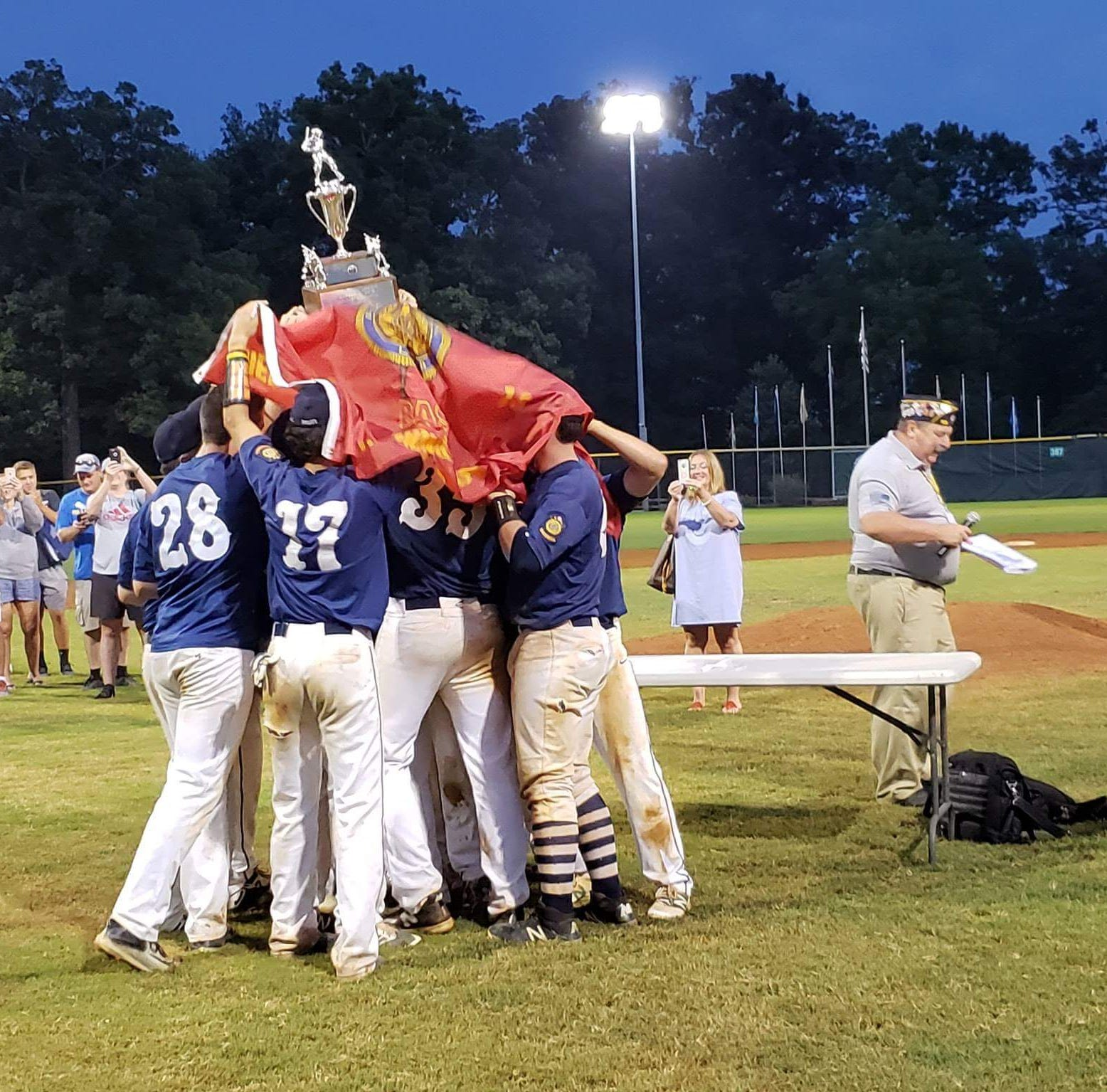 Delaware American Legion team living its World Series dream