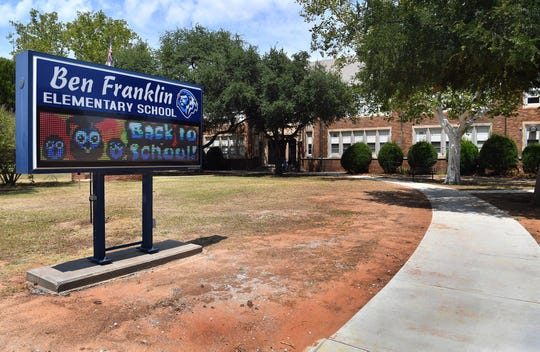 Ben Franklin Elementary School.