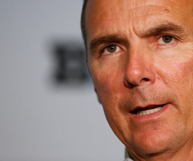 Ohio State coach Urban Meyer has been on administrative leave since Aug. 1