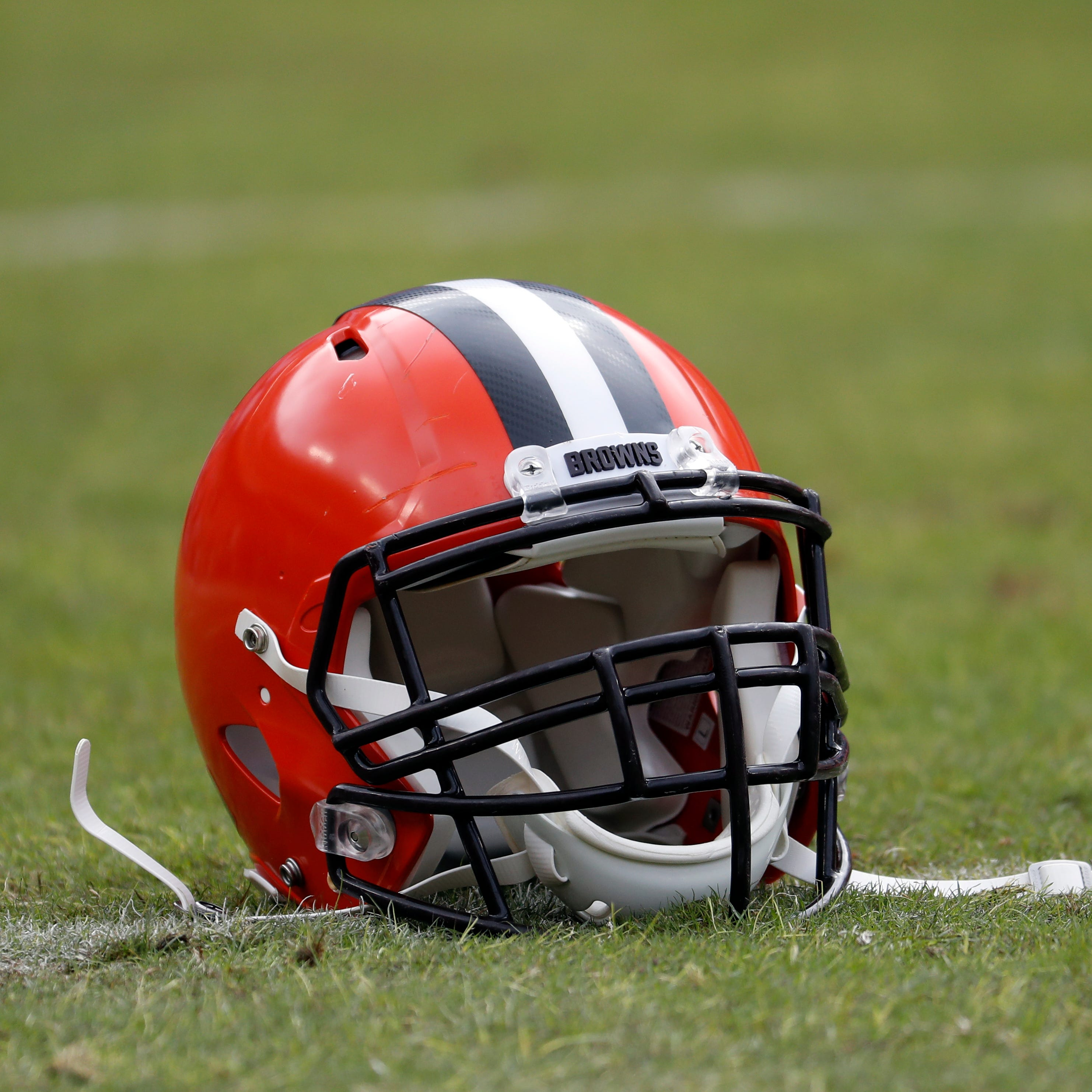 Cleveland Browns helmet.