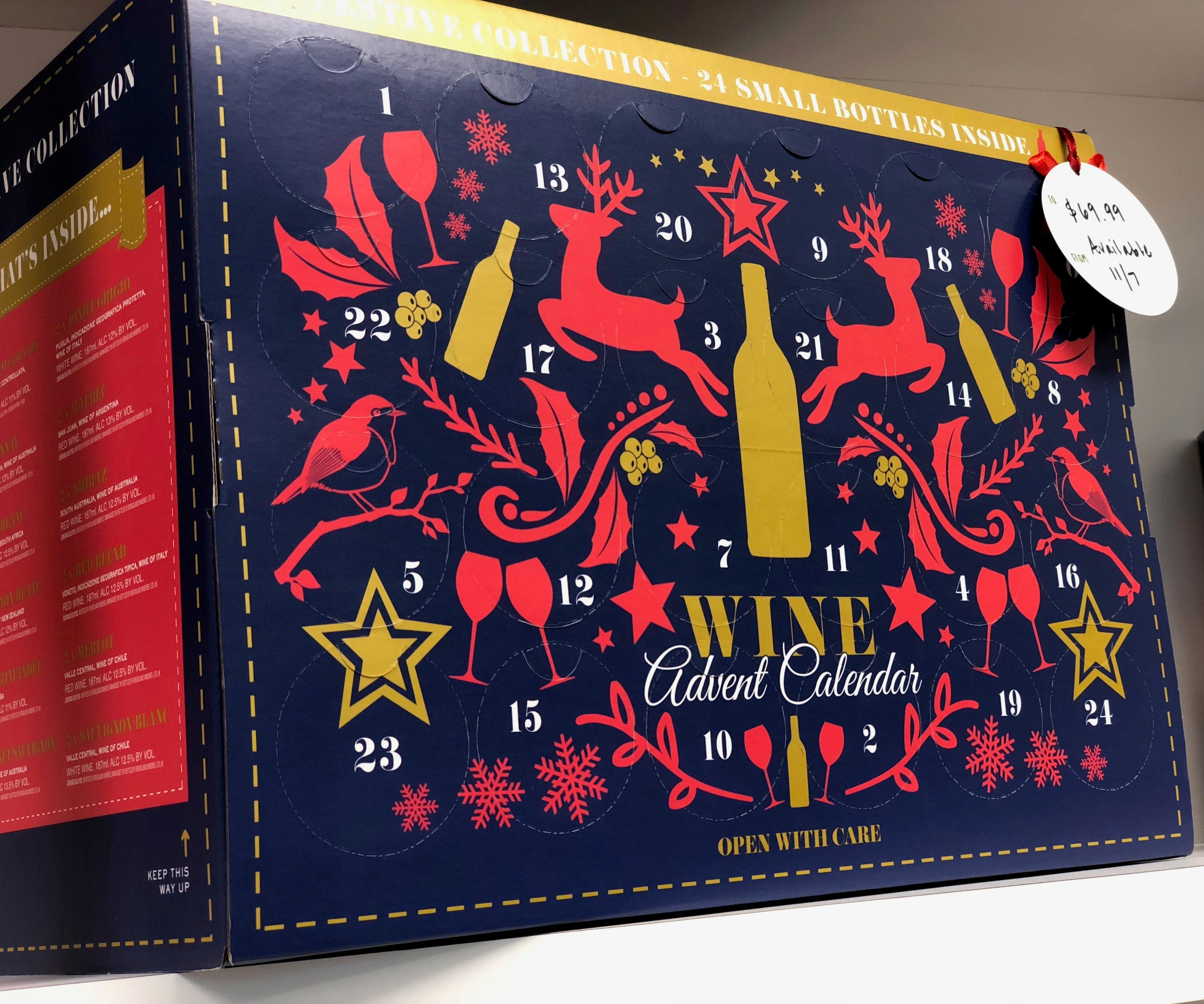 Cheers! Aldi supermarkets to offer limited wine Advent calendars in U.S. stores