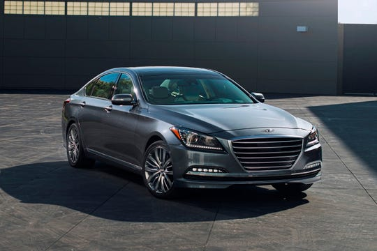 This Photo Provided By Hyundai Shows The 2017 Genesis Sedan Is A True