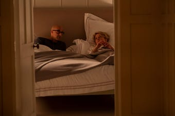 Jack (Stanley Tucci) confronts wife Fiona (Emma Thompson) about their relationship and drops a bombshell in an exclusive clip from 'The Children Act.'