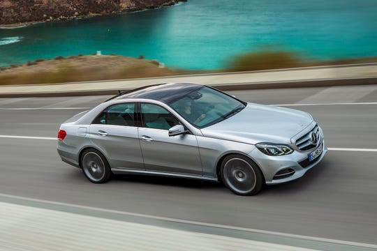 This undated photo provided by Mercedes-Benz shows the 2016 E-Class sedan. Few sedans exemplify a proper luxury sedan better than the Mercedes-Benz E-Class. For around $36,000, you can find 2014 to 2016 E350 sedans. These were the last years of the previous -generation model. (Courtesy of Mercedes-Benz USA via AP)