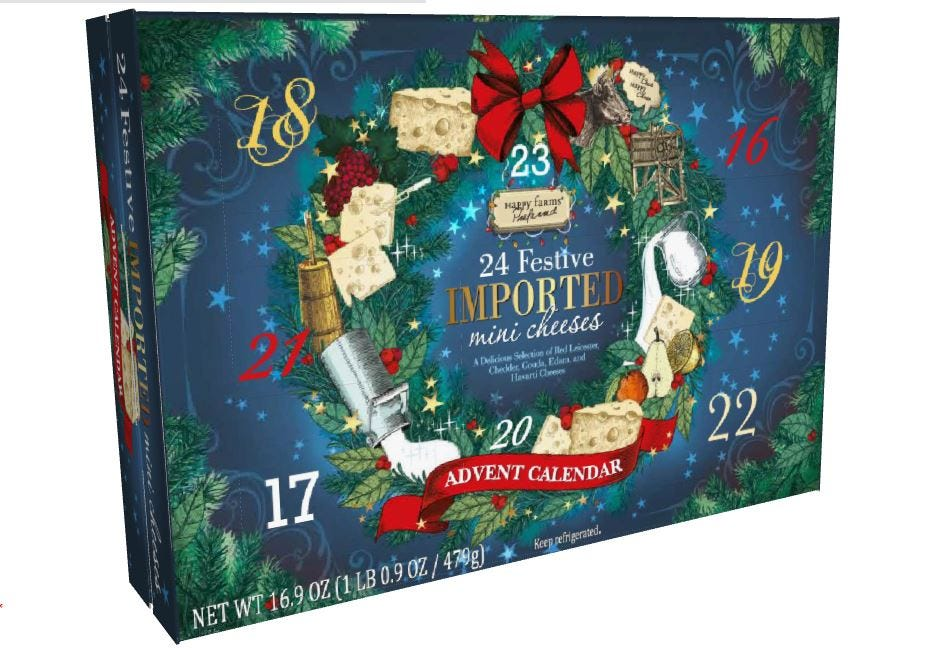 24 days of christmas wine gifts