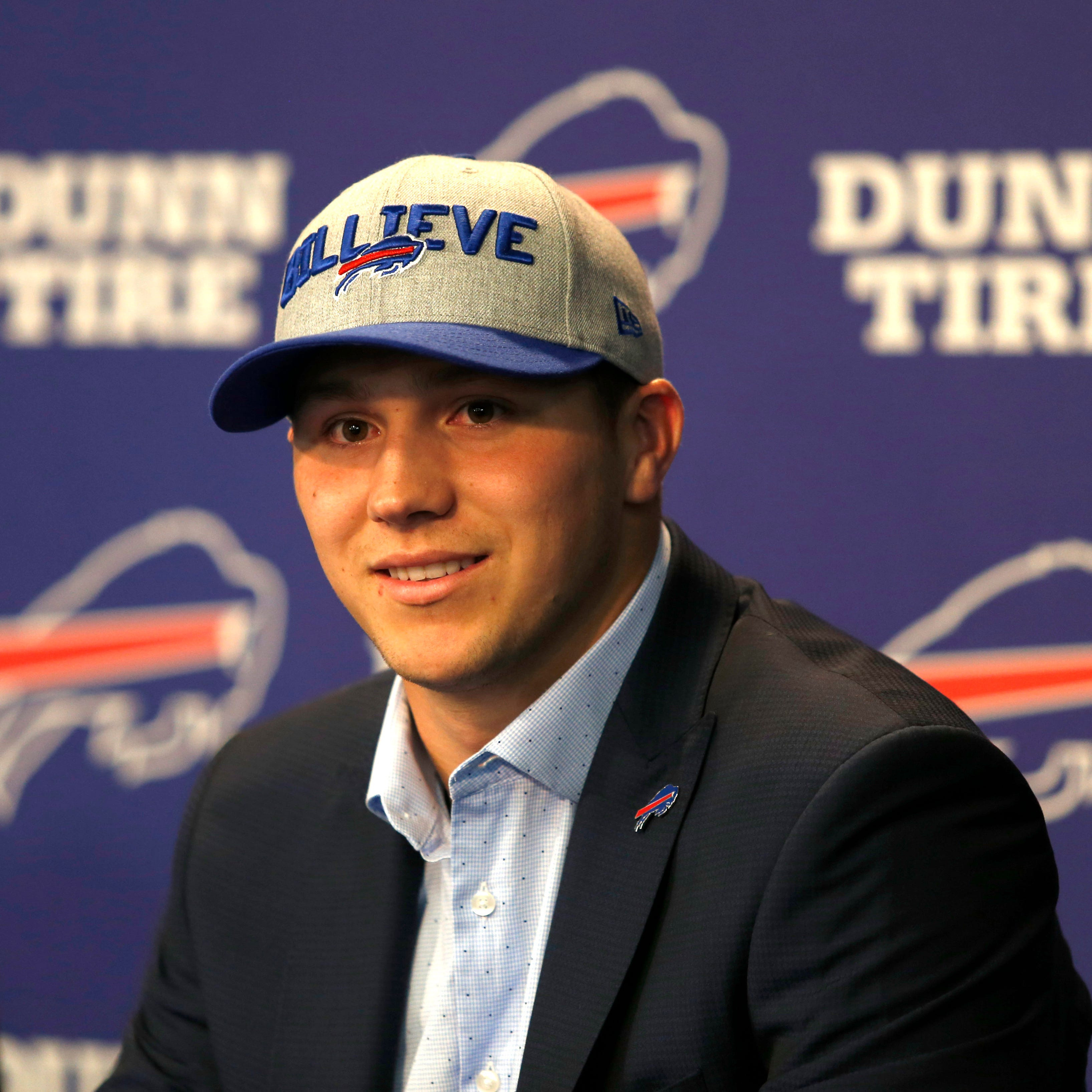 Josh Allen, Buffalo Bills have moved on since pre-draft revelation of racist tweets