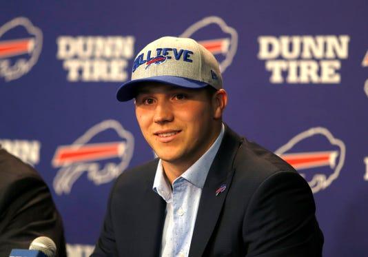 Nfl Buffalo Bills Josh Allen Press Conference