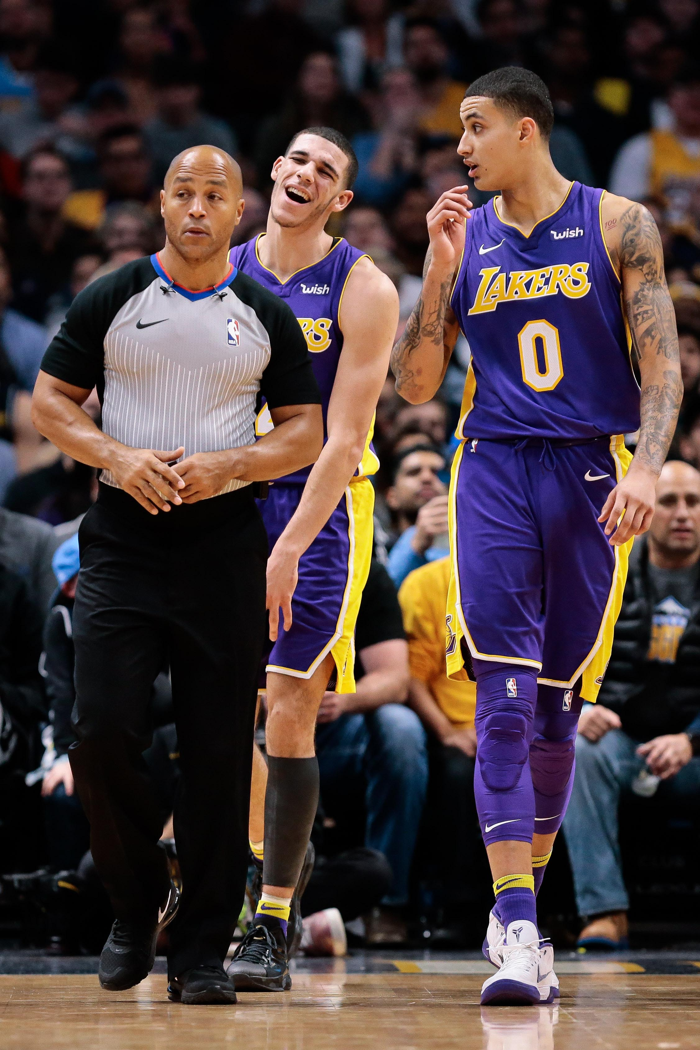 Nba Basketball Los Angeles Lakers: Kyle Kuzma: People Are 'underestimating' Lakers