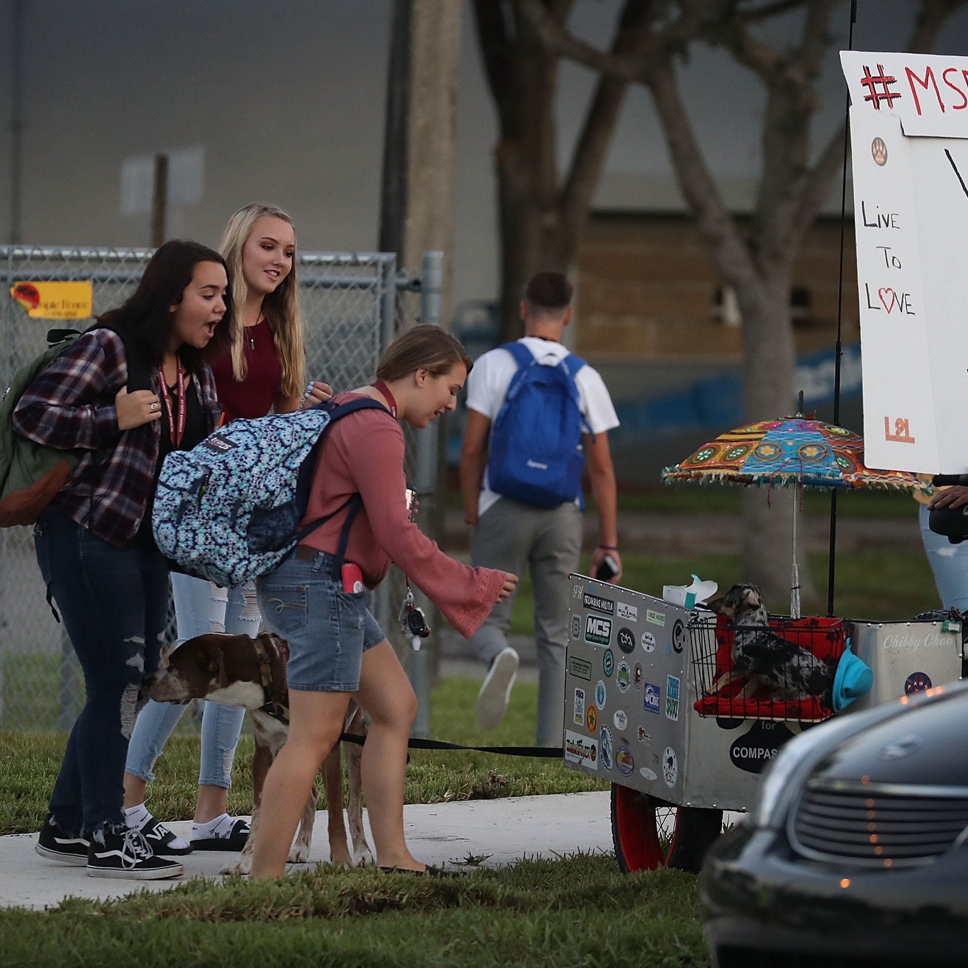 Principal of Parkland, Florida school where 17 were slain announces he will resign