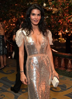 Angie Harmon at the Whole Child International's Inaugural Gala in Los Angeles on Oct. 26, 2017 in Beverly Hills.