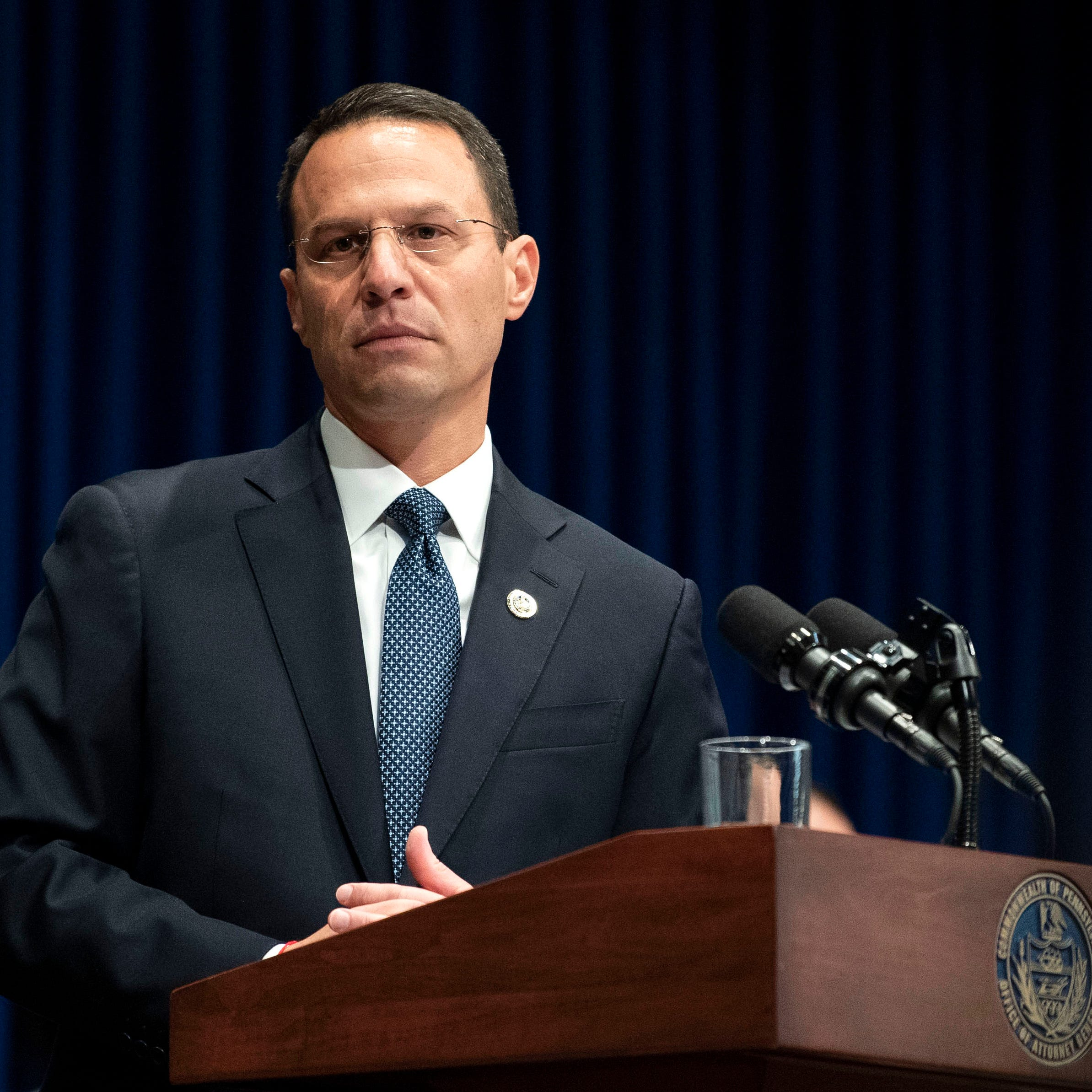Attorney General Josh Shapiro outlined the findings of the grand jury investigation into six Catholic diocese in Pennsylvania.