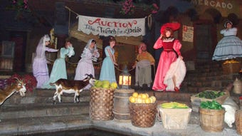 Women have a new role on the classic Pirates of the Caribbean ride at Walt Disney World and Disneyland.