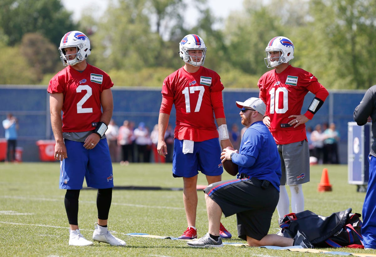 31d19c6f Buffalo Bills have QB competition featuring three very different passers