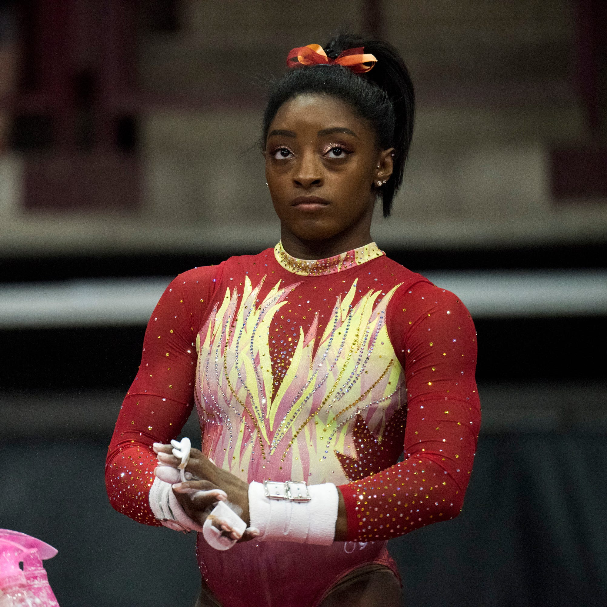 With two years until Tokyo Olympics, gymnast Simone Biles better and virtually untouchable