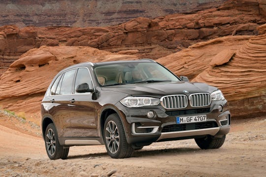 This Undated Photo Provided By Bmw Shows The 2017 X5 Midsize Really Set