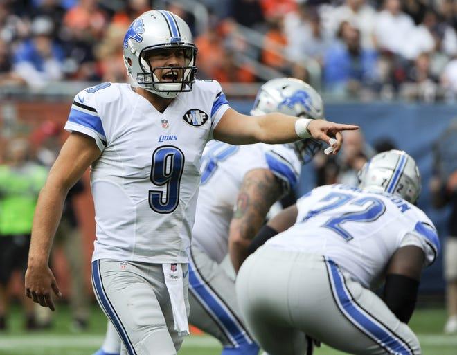 Lions QB Matt Stafford will be leaving Detroit.
