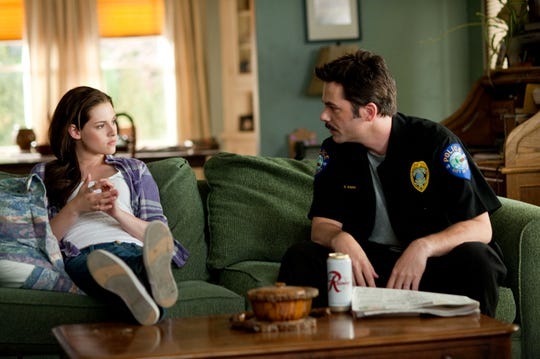 "Kristen Stewart, left, and Billy Burke in a scene from ""The Twilight Saga: Eclipse."""