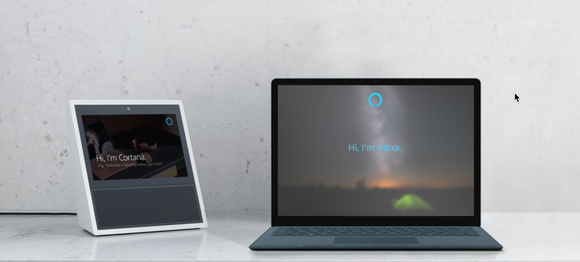 Alexa and Cortana join forces