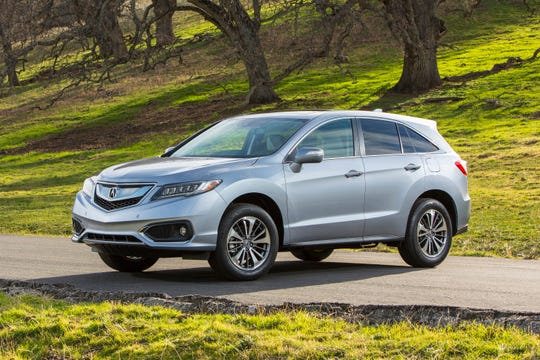 This Photo Provided By Honda Shows The Acura 2016 Rdx Thanks To Its Strong V6