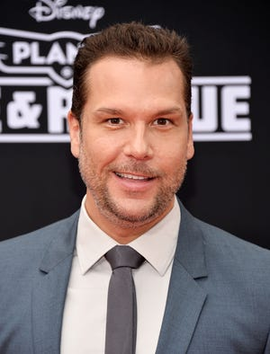 """In an Instagram Story Q&A, comedian Dane Cook says he and 19-year-old girlfriend Kelsi Taylor began as friends and then """"upgraded to love."""""""
