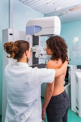 Cancers are often symptom-free and are first detected by a mammogram or another imaging scan.