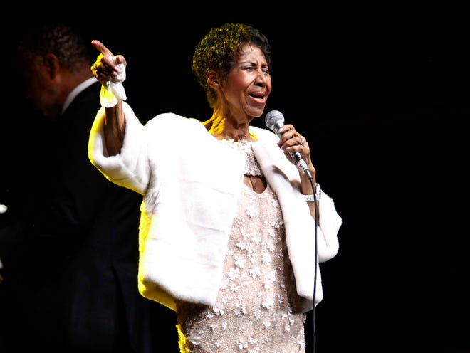 People are praying for Aretha Franklin in Detroit.