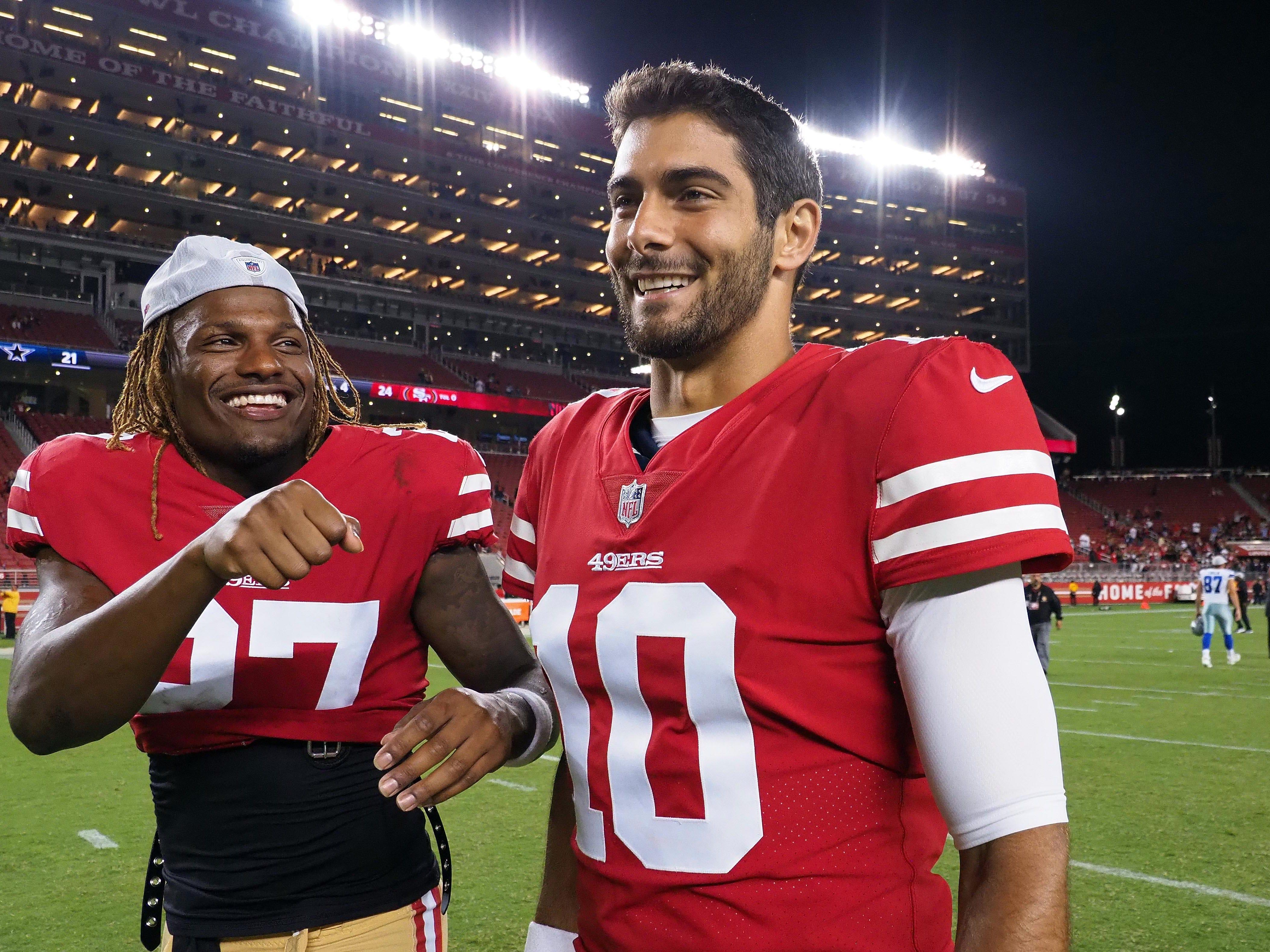 San Francisco 49ers: Jimmy Garoppolo