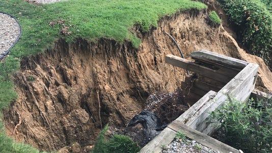 Brick landslide 2