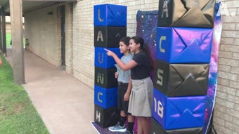 Highlights from first day of classes at Abilene Christian School on Thursday, Aug. 16, 2018.