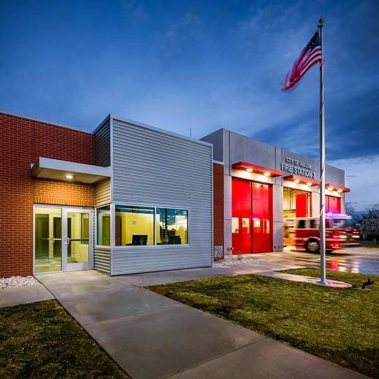 The American Institute of Architects Abilene Chapter gave a Merit Award to Parkhill, Smith & Cooper Architects for its design of Fire Station No. 3.