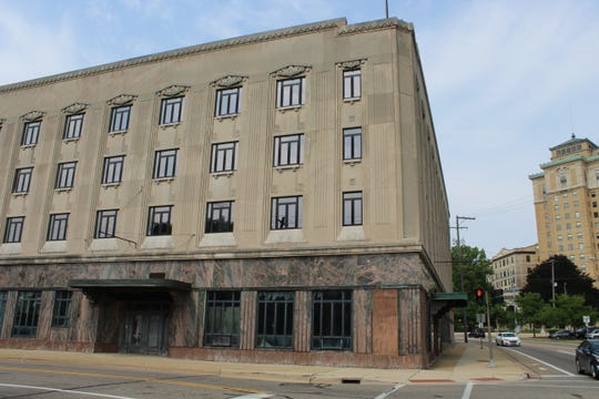 The former Hart Hotel will one day house the Church of Scientology in Battle Creek. The church bought the building 17 years ago and says plans to redevelop it are moving forward.