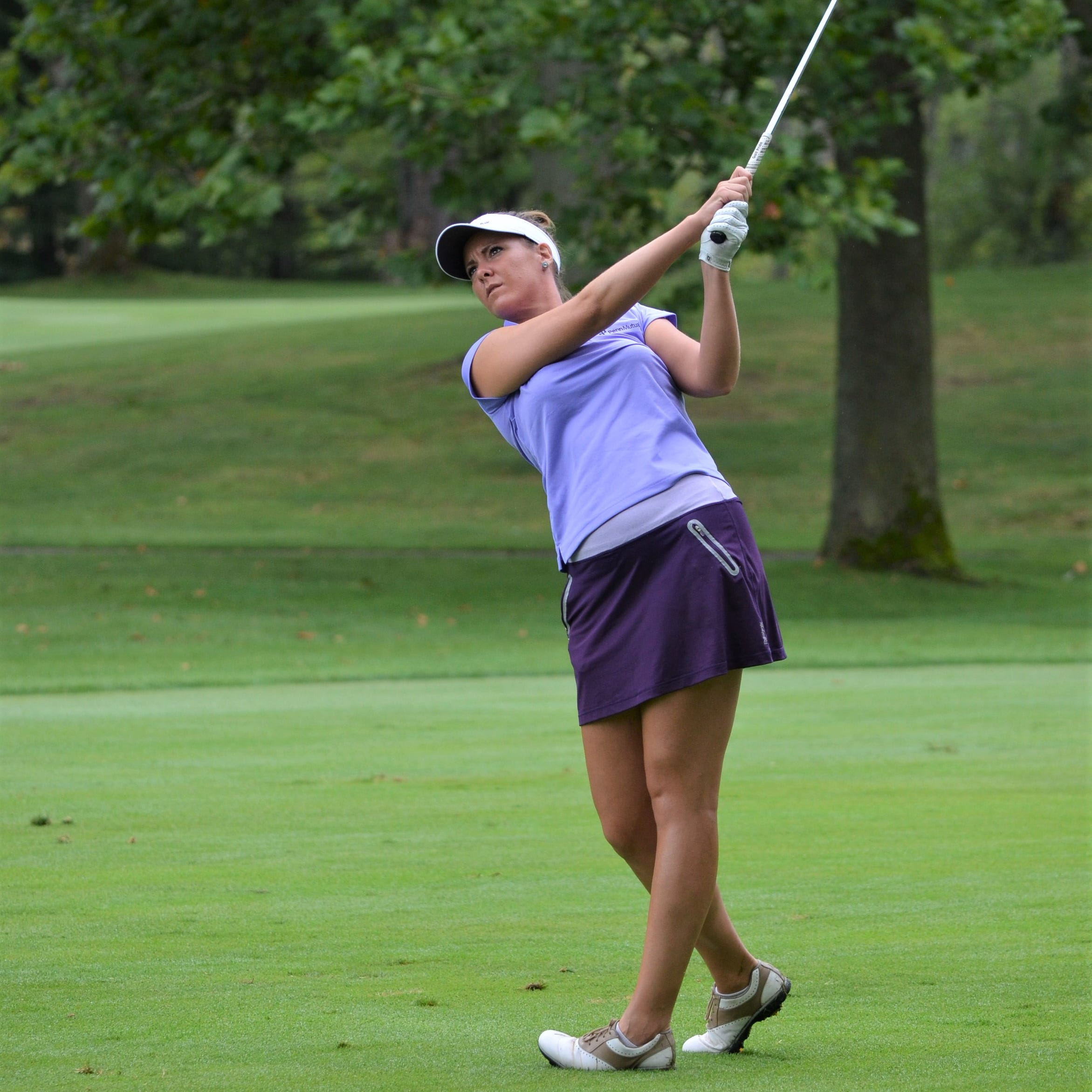 Former Michigan State golfers enjoy return to area to play at Symetra's FireKeepers event