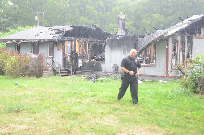 Detective Seth Graves said this fire in July was suspicious and police are looking for help to solve the case.