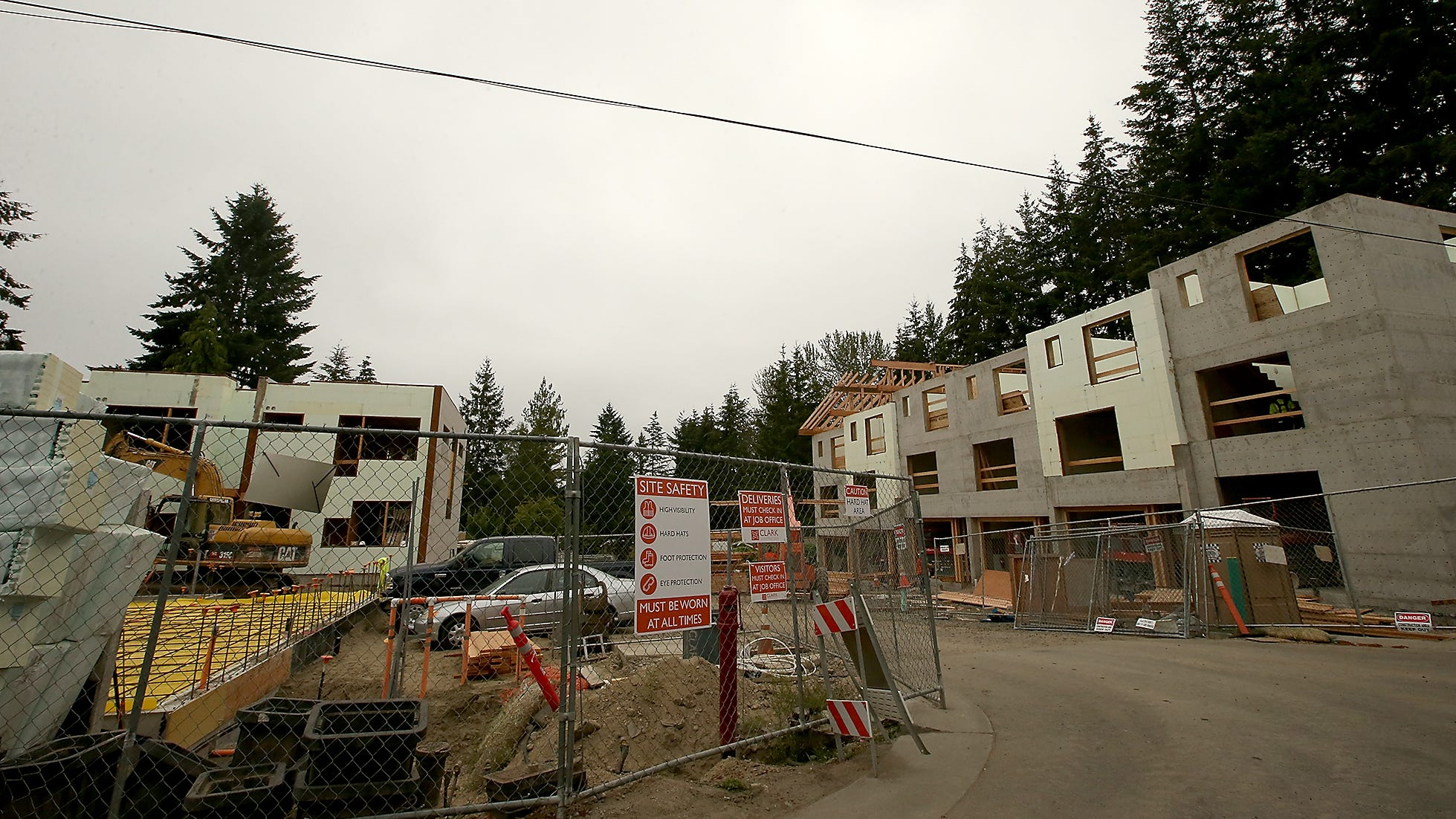 Construction site along Madrona Way on Bainbridge Island on Thursday, August 16, 2018.