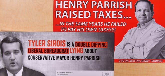 These are among the campaign mailings in advance of the Republican primary for Florida House District 51.