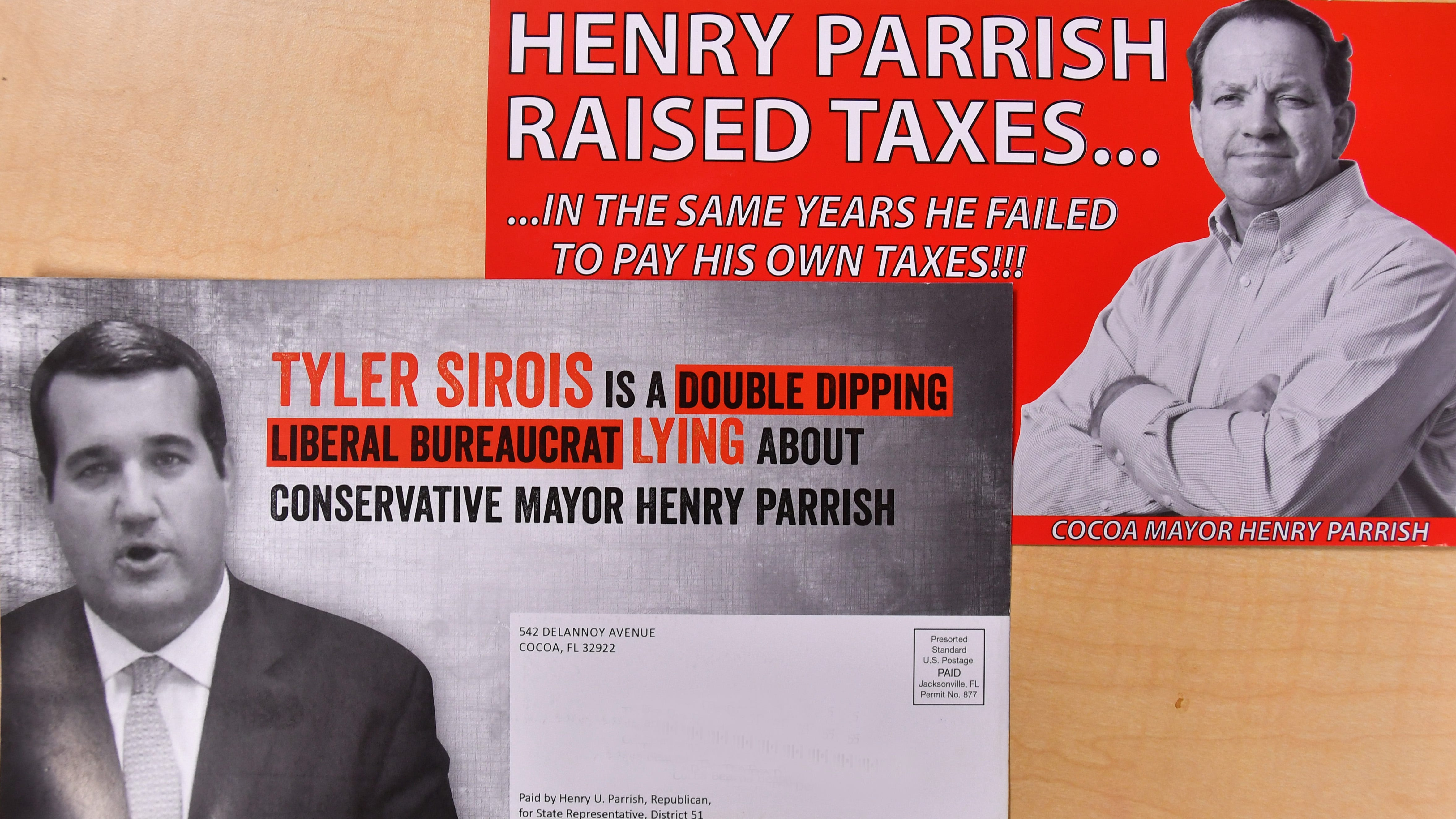 Candidate Parrish owes $20,723 in back property taxes, which becomes issue in GOP primary for House District 51 seat