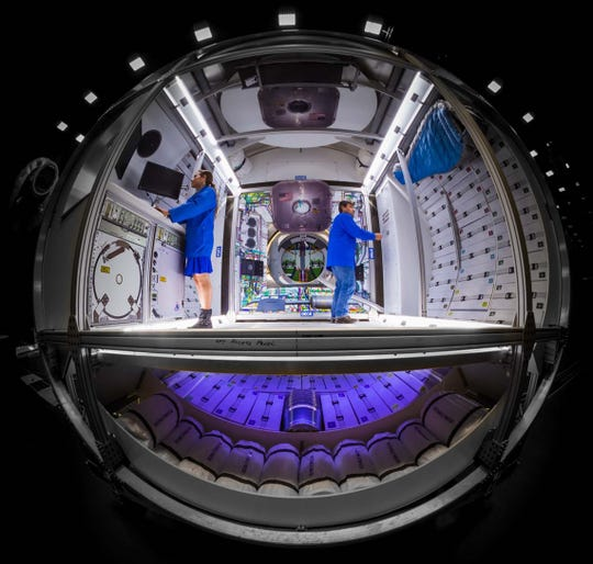 This might be what Lockheed Martin's deep space lunar habitat looks like if NASA goes with the aerospace company's design.