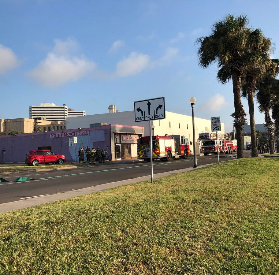 Corpus Christi firefighters investigate cause of fire at downtown apartments