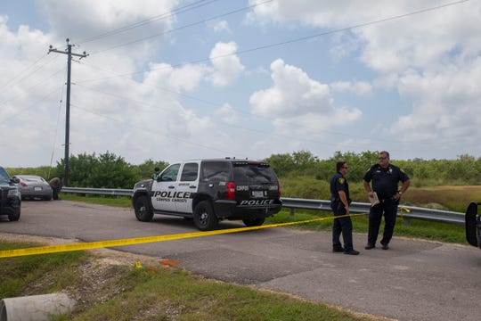 Corpus Christi police investigate the death of a woman whose body was found Thursday morning on Slough Road by a passerby.