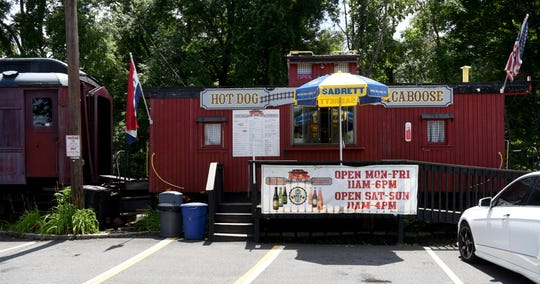 Hot Dog Food Caboose is located in  Midland Park.