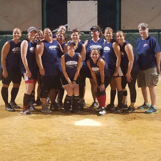 Homiak Transportation, runner-up in the Vineland Women's Softball Association championship game