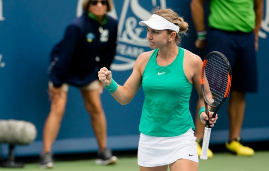 Simona Halep Advances At The Western Southern Open