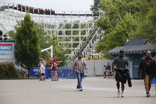 The antique cars will return to Coney Mall at Kings Island in Spring of 2019.